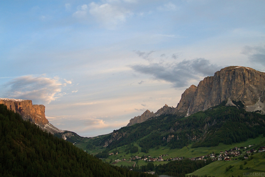In the heart of the Dolomites, Corvara in Badia, Südtirol, Italy.