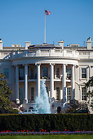 The White House and The Fountain