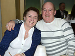 Gene and Nuala Black pictured at Valerie Kenny's 50th birthday in the Black Bull. Photo:Colin Bell/pressphotos.ie