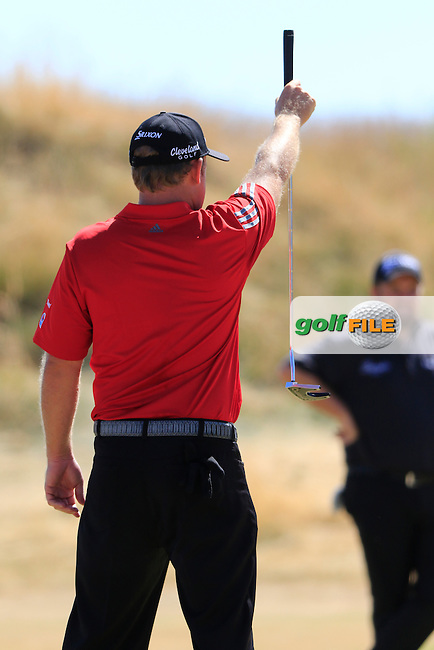 JB HOLMES (USA) lines up his putt on the 6th green during Sunday's Final Round of the 2015 U.S. Open 115th National Championship held at Chambers Bay, Seattle, Washington, USA. 6/21/2015.<br /> Picture: Golffile | Eoin Clarke<br /> <br /> <br /> <br /> <br /> All photo usage must carry mandatory copyright credit (&copy; Golffile | Eoin Clarke)
