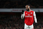 Arsenal's Alexandre Lacazette looks on during the Premier League match at the Emirates Stadium, London. Picture date: 5th December 2019. Picture credit should read: David Klein/Sportimage