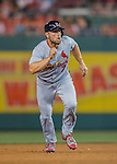 28 May 2016: St. Louis Cardinals outfielder Matt Holliday in action against the Washington Nationals at Nationals Park in Washington, DC. The Cardinals defeated the Nationals 9-4 to take a 2-games to 1 lead in their 4-game series. Mandatory Credit: Ed Wolfstein Photo *** RAW (NEF) Image File Available ***
