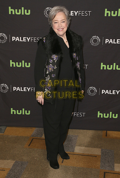 26 March 2017 - Hollywood, California - Kathy Bates. The Paley Center For Media's 34th Annual PaleyFest Los Angeles - &quot;American Horror Story: Roanoke&quot;  held at the Dolby Theatre. <br /> CAP/ADM<br /> &copy;ADM/Capital Pictures