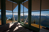 Fire Lookout, Desolation Peak, North Cascades Natonal Park, Washington, US