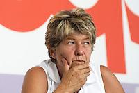 Susanna Camusso, Segretario Generale della CGIL, alla festa del Partito Democratico. Milano 8 settembre 2001<br /> <br /> Susanna Canusso, Secretary of General Confederation of Labour (CGIL), during the meeting of the Democratic Party. Milan, September 8, 2011