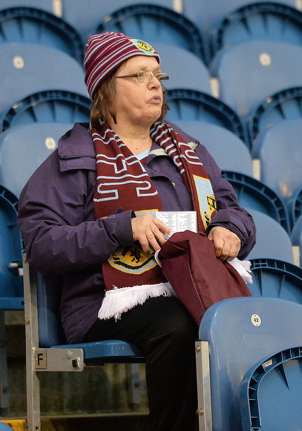 Fans during the evening<br /> <br /> Photographer Dave Howarth/CameraSport<br /> <br /> Football - The Football League Sky Bet Championship - Burnley v Milton Keynes Dons - Tuesday 15th September 2015 - Turf Moor - Burnley<br /> <br /> &copy; CameraSport - 43 Linden Ave. Countesthorpe. Leicester. England. LE8 5PG - Tel: +44 (0) 116 277 4147 - admin@camerasport.com - www.camerasport.com