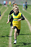 jack Carolan from Boyne AC running in the boys under 10 one hundred meter event at the Louth Community Games Athletics Finals held at meadowview. Photo: Colin Bell/pressphotos.ie
