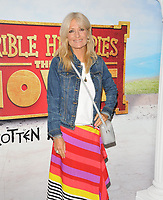 "Gaby Roslin at the ""Horrible Histories: The Movie - Rotten Romans"" world film premiere, Odeon Luxe Leicester Square, Leicester Square, London, England, UK, on Sunday 07th July 2019.<br /> CAP/CAN<br /> ©CAN/Capital Pictures"