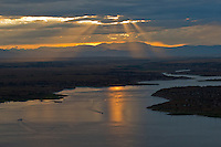 Sunset on Lake Pueblo. July 2014. 86188