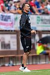 20.07.2019, Heinz-Dettmer-Stadion, Lohne, GER, Interwetten Cup, VfL Osnabrueck vs 1. FC Koeln<br /><br />im Bild<br />Achim Beierlorzer (Trainer / Cheftrainer 1. FC Koeln) in Coachingzone / an Seitenlinie, <br /><br />Foto © nordphoto / Ewert