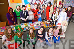 Enjoying Love Literature Week and World Book Day on Thursday were first year Presentation Secondary students in Tralee.