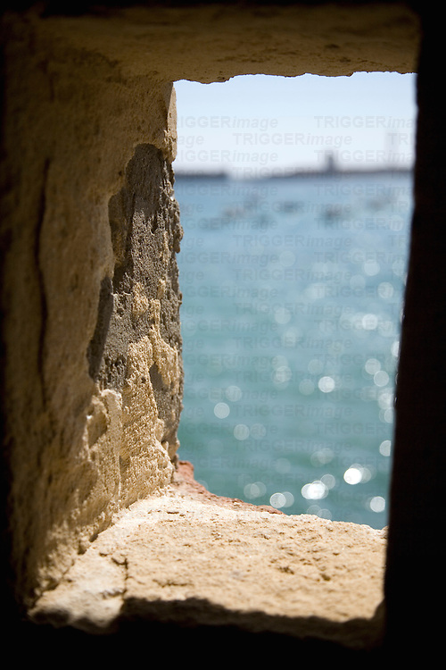 Castillo de Santa Catalina, built by Felipe II, is a remarkable work of military engineering of the 16th century.