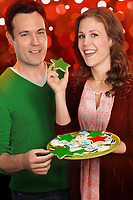 A Cookie Cutter Christmas (2014)<br /> Promo shot of Erin Krakow &amp; David Haydn-jones<br /> *Filmstill - Editorial Use Only*<br /> CAP/KFS<br /> Image supplied by Capital Pictures