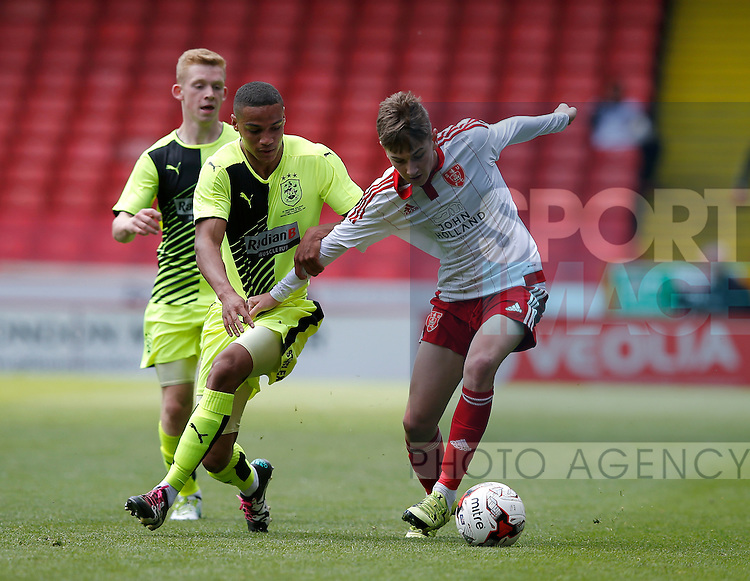 David Brooks of Sheffield Utd in action during the PDL U21 Final at Bramall Lane Sheffield. Photo credit should read: Simon Bellis/Sportimage