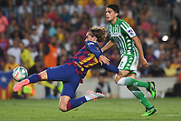 FOOTBALL: FC Barcelone vs Real Betis - La Liga-25/08/2019<br /> Antoine Griezmann (FCB), Bartra (Betis) <br /> 25/08/2019 <br /> Barcelona - Real Betis  <br /> Calcio La Liga 2019/2020  <br /> Photo Paco Largo/Panoramic/insidefoto