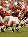MATT LEINART, of the Arizona Cardinals, in action against the Kansas CIty Chiefs on October 8, 2006 in Phoenix, AZ...Chiefs win 23-20..David Durochik / SportPics.