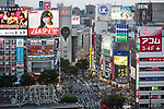 July 3, 2017, Tokyo, Japan - A picture taken on May 29, 2017 shows a general view of Tokyo's Shibuya shopping district. According to the Bank of Japan's tankan report, confidence among the nation's largest manufacturers has risen for the third straight quarter to the greatest level in more than three years. The report showed a reading of 17 among major manufacturers which is the highest since the first quarter of 2014. (Photo by AFLO)
