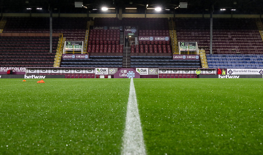A general view of the Turf Moor stadium<br /> <br /> Photographer Andrew Kearns/CameraSport<br /> <br /> The Premier League - Burnley v Liverpool - Wednesday 5th December 2018 - Turf Moor - Burnley<br /> <br /> World Copyright © 2018 CameraSport. All rights reserved. 43 Linden Ave. Countesthorpe. Leicester. England. LE8 5PG - Tel: +44 (0) 116 277 4147 - admin@camerasport.com - www.camerasport.com
