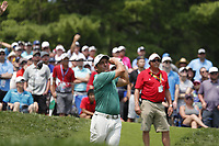 Francesco Molinari (ITA) tees off on the 4th hole during the final round of the 100th PGA Championship at Bellerive Country Club, St. Louis, Missouri, USA. 8/12/2018.<br /> Picture: Golffile.ie   Brian Spurlock<br /> <br /> All photo usage must carry mandatory copyright credit (© Golffile   Brian Spurlock)