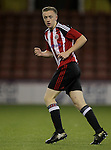Sheffield United's Jordan Hallam during the FA Youth Cup First Round match at Bramall Lane Stadium, Sheffield. Picture date: November 1st 2016. Pic Richard Sellers/Sportimage