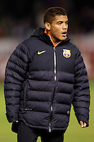 FC Barcelona's Jonathan Dos Santos during Spanish King's Cup match.October 30,2012. (ALTERPHOTOS/Acero) /NortePhoto