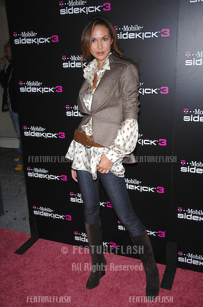 SVETLANA METKINA at party in Beverly Hills to launch the new limited edition T-Mobile Sidekick 3 designs..October 12, 2006  Los Angeles, CA.Picture: Paul Smith / Featureflash