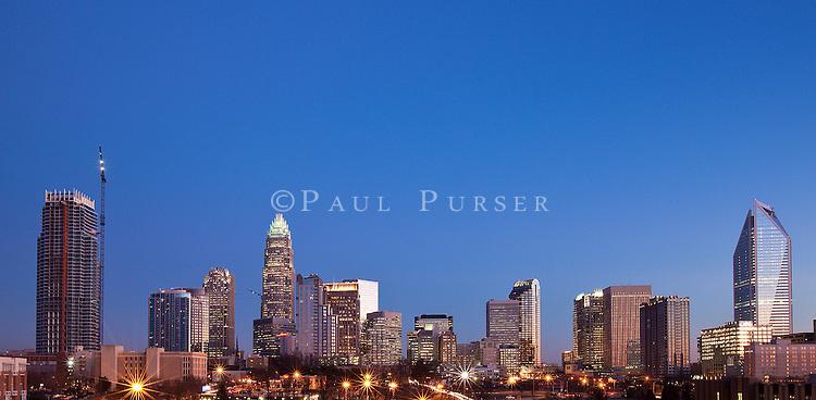 Charlotte skyline Photos