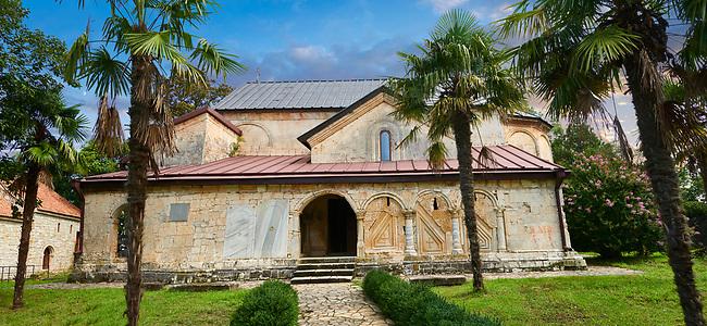 Picture & image of the medieval Khobi Georgian Orthodox Cathedral, 10th -13th century, Khobi Monastery, Khobi, Georgia.