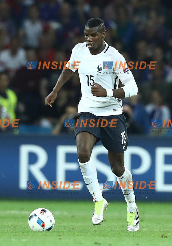 Paul Pogba France<br /> Lille 19-06-2016 Stade Pierre Mauroy Footballl Euro2016 Switzerland - France  / Svizzera - Francia Group Stage Group A. Foto Matteo Ciambelli / Insidefoto