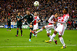 Nederland, Amsterdam, 3 oktober  2012.Seizoen 2012-2013.Champions League.Ajax_Real Madrid.Christiano Ronaldo van Real Madrid scoort de 1-3