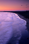 Twilight over the Pacific Ocean at Enderts Beach, Crescent City, California