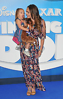 Tamara Ecclestone &amp; daughter Sophia at the &quot;Finding Dory&quot; UK film premiere, Odeon Leicester Square cinema, Leicester Square, London, England, UK, on Sunday 10 July 2016.<br /> CAP/CAN<br /> &copy;CAN/Capital Pictures ***USA and South America Only**