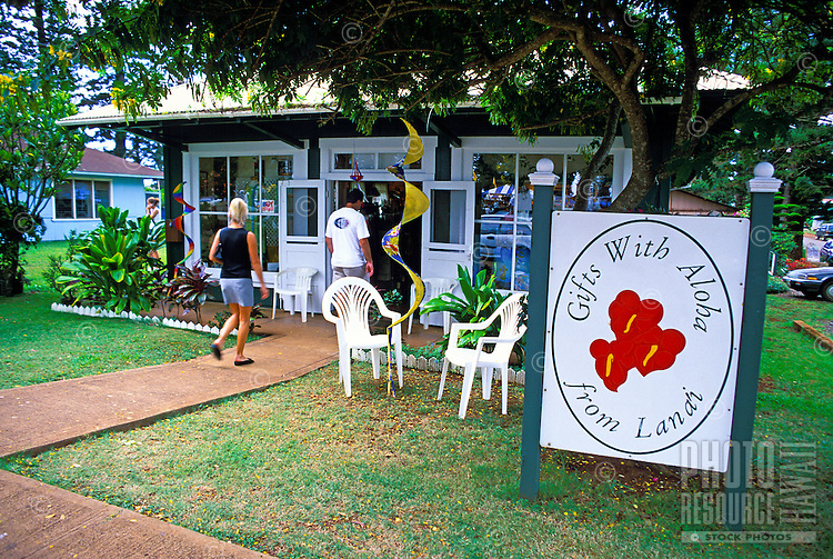 Lanai City shops