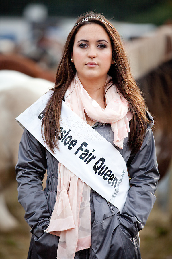 Hannah Kelly (21) from Shannonbridge, Ballinasloe the 2010 Queen of the Ballinasloe Fair. Picture James Horan