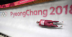 Stepan Fedorov (OAR). Mens luge. Pyeongchang2018 winter Olympics. Alpensia sliding centre. Alpensia. Gangneung. Republic of Korea. 11/02/2018. ~ MANDATORY CREDIT Garry Bowden/SIPPA - NO UNAUTHORISED USE - +44 7837 394578