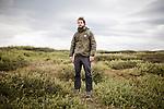 AKUREYRI, ICELAND AUGUST 2013:<br />Dangoor Next generation programme in north west Iceland, Charles Montier, Adventure Leader team Giant Aug 2013.<br />@Giulio Di Sturco