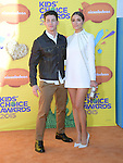 Nick Jonas, Olivia Culpo<br /> <br /> <br /> <br /> <br /> <br /> <br />  attends 2015 Nickelodeon Kids' Choice Awards  held at The Forum in Inglewood, California on March 28,2015                                                                               &copy; 2015 Hollywood Press Agency