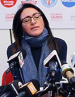 Conferenza Stampa di Valeria Valente , candidato del centrosinistra, dopo la sconfitta nelle elezioni comunali 2016