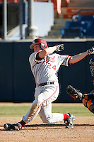 Toby Gerhart of the Stanford Cardinal during a game against the Cal State Fullerton Titans at Goodwin Field on February 4, 2007 in Fullerton, California. (Larry Goren/Four Seam Images)