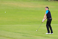 Richard Fleming (Lisselan) on the 5th during the AIG Jimmy Bruen Shield Final between Lisselan &amp; Waterford in the AIG Cups &amp; Shields at Carton House on Saturday 20th September 2014.<br /> Picture:  Thos Caffrey / www.golffile.ie