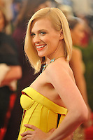 January Jones at the 'Schiaparelli And Prada: Impossible Conversations' Costume Institute Gala at the Metropolitan Museum of Art on May 7, 2012 in New York City. © mpi03/MediaPunch Inc.