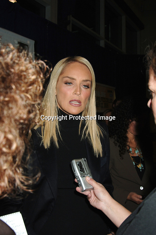 Sharon Stone..arriving at The Speak Truth To Power and RFK Memorial Benefit on October 6, 2006 at Pier Sixty at Chelsea Piers. ..Robin Platzer, Twin Images
