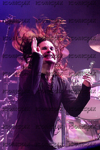 BLACK SABBATH - vocalist Ozzy Osbourne performing live as the headline act on Day Two of the 2005 Download Festival officially re-named Ozzfest 2005 at Donington Park UK - 11 Jun 2005.  Photo credit: George Chin/IconicPix