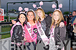 HEN TIME: Greta O'Shea, Bruach Na hAbhann, Tralee having a great time at her Hen Party at the Kingdom Greyhound Stadium on Saturday l-r:Melissa Canavan, Greta O'Shea, Caitriona Moriarty and Sarah O'Brien.