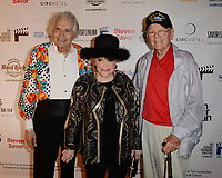 FORT LAUDERDALE FL - NOVEMBER 07: Frank Loconto, Connie Francis and Woody Woodbury attend The Fort Lauderdale International Film Festival's screening of Where The Boys Are held at the Westin Fort Lauderdale Beach Resort on November 7, 2018 in Fort Lauderdale, Florida. Credit: mpi04/MediaPunch