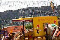 Tiradentes_MG, Brasil...Charretes no carnaval em Tiradentes...Chariots in carnival  in Tiradentes...Foto: LEO DRUMOND /  NITRO