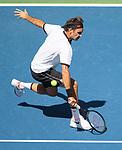 Roger Federer (SUI) defeated Daniel Evans (GBR) 6-2, 6-2, 6-1
