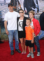 Natalie Maines , Adrian Pasdar and their kids at The Disney World Premiere of The Lone Ranger held at at Disney California Adventure in Anaheim, California on June 22,2021                                                                   Copyright 2013 DVSIL / iPhotoLive.com