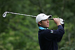 Richard Sterne tees off in the final round of the BMW PGA Championship on the 27th of May 2007 at the Wentworth Golf Club, Surrey, England. (Photo by Manus O'Reilly/NEWSFILE)