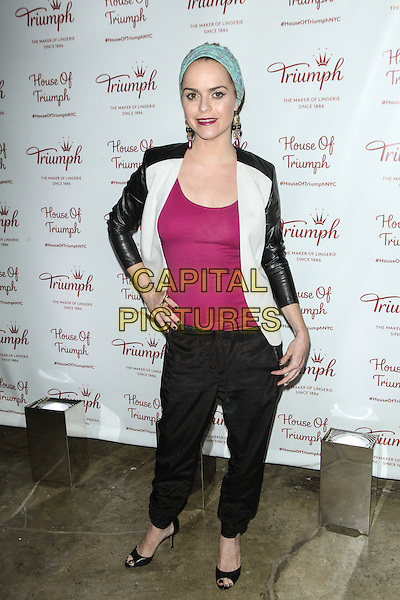 NEW YORK, NY -  AUGUST 28:  Taryn Manning attends Triumph Lingerie's Magic Wire Launch Event at The Old Bowery Station on August 28, 2014 in New York City.  <br /> CAP/MPI/COR99<br /> &copy;COR99/MPI/Capital Pictures
